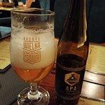 Piwo Złota Stacja - ważone specjalnie dla wałbrzyskiej restauracji przez lokalny browar