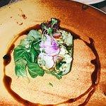 Monkfish ceviche starter