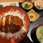 ドミかつ丼定食 ¥1,050-+税