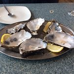 Oysters, forgot take image before eating them. They were good