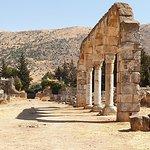 The Main Throughfare, Anjar Roman ruins