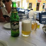 When in Greece you must have a Mythos beer