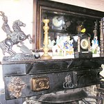 Just a typical scene inside. A fireplace with assorted decoration.