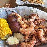 the peel & eat shrimp was amazing