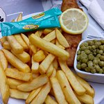 fries with a bit of fish