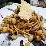 The Pasta of the Day -> Octopus & Kalamata Olives & Potatoes 😊