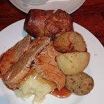 Turkey roast dinner