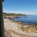 Vista desde el parador hacia el mar