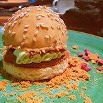 Mini Hamburguesa (postre dulce)