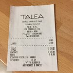 Photo de Talea Coffee Drinks & Food