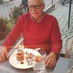 Niespodzianka od restauracji dla Solenizanta :)