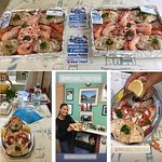 Crab platters and Taste of Pembrokeshire judges