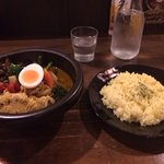 鶏肉と野菜のスープカレー