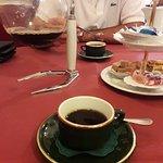 Koffie met versnaperingen