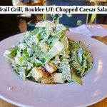 Burr Trail Grill, Boulder UT: Chopped Caesar Salad