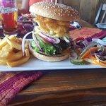 Deluxe stacker burger