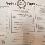 Peter Luger Steak House의 사진
