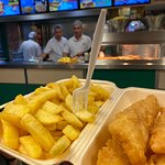 Best Fish and Chips ...ever. Thx Greats from Germany