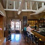 inside bar area.