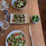 quinoa salad was soooo good.