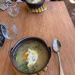 potato noodle udon soup