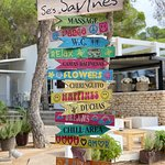 Foto de Ses Savines Restaurant & Beach Bar