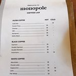 Foto Monopole Coffee Lab