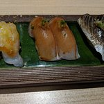 The sharing sushi plate