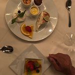 Try the Quatro and the Creme Brulee for dessert!