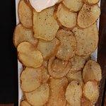 Las patatas bravas si que estaban muy buenas