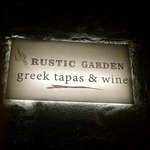 Bilde fra Rustic Garden Greek Tapas & Wine