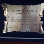 صورة فوتوغرافية لـ Trattoria Vecchia Valle di Lucia e Tino