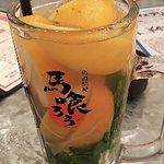 巨大レモンサワー