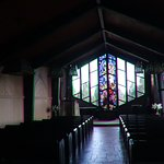 Kast view inside the chapel