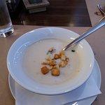 Menüben - Karfiolkrém leves