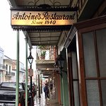 Outside signage for Antoines