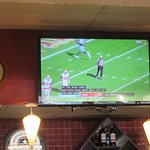 TV (San Francisco 49er Football Game), Zorba's Mediterranean Grill, Fremont, CA