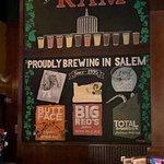 Craft beers rule