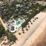 Beach, Gold 55 Bar & Restaurant and pool area