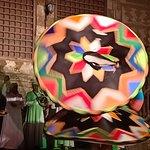 Sufi and Tanoura show at Wekalet El Ghouri Art Center.