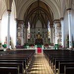 Vista do altar principal.