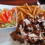 Kebab tallerken