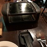 the raclette cooker