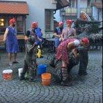 Gengenbach Narren Brunnen Putzete