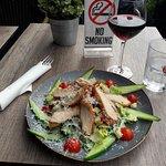 Den beste kylling Cesar salat i Bergen!