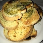 grilled fresh bread