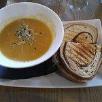 Delicious pumpkin soup