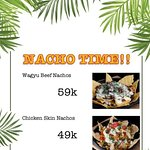 SPECIAL PRICE HOMEMADE NACHOS  November 1st to November 30th 2019 11:00 - 24:00  CHOP CHOP!  DON'T MISS IT !
