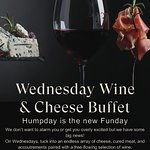 Enjoy an endless array of cheese, cured meat inclusive 3 selection of red and white wines. Every Wednesday from 1730 to 1930.