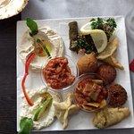 assiette dégustation, le liban dans l'assiette
